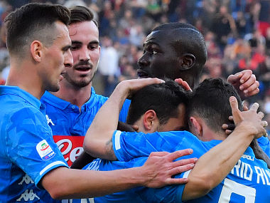 Serie A Napoli run riot against AS Roma to pull clear of Inter Milan Juventus close in on title with Empoli win