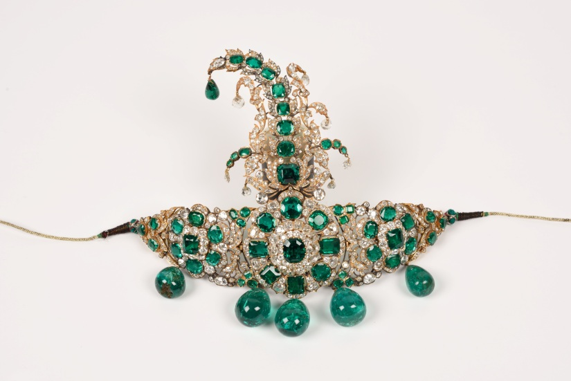 Hyderabad Nizams jewels put on display at Delhis National Museum boast of spectacular gems craftsmanship