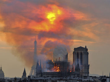 NotreDame fire IOC pledges 500000 euros to ensure cathedral is restored in time for Paris Olympics 2024