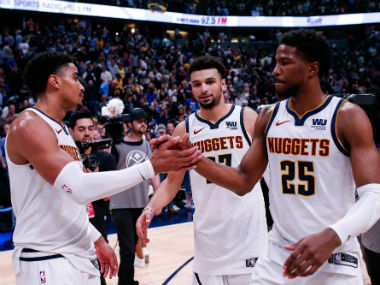 NBA Playoffs 2019 Jamal Murray leads dramatic late fightback for Nuggets against Spurs Raptors Blazers romp