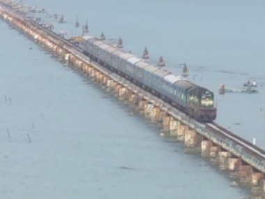 Chennai police receive call threatening to blow up Pamban sea bridge amp up security checks on vehicles