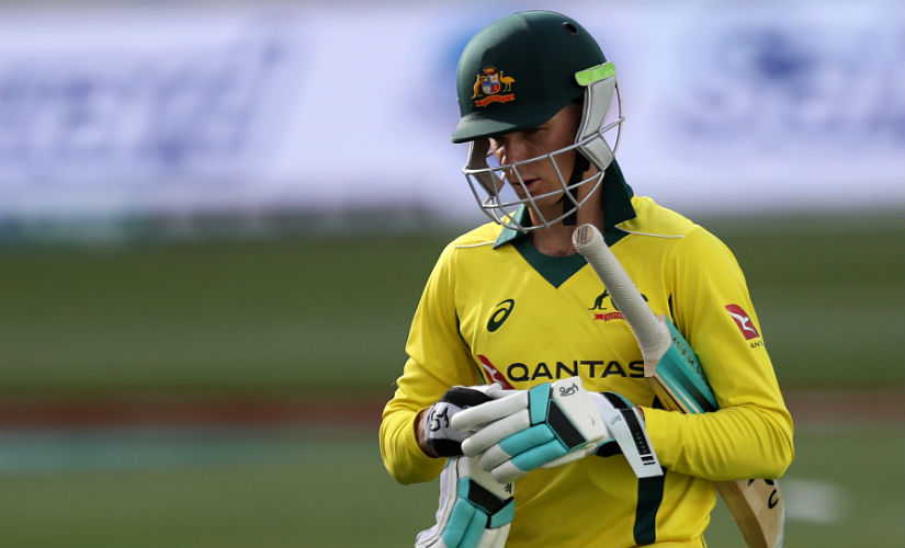 Peter Handscomb was not picked by the Australia selectors despite a series of good performances, his spot going to Steve Smith instead. AFP