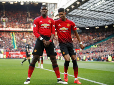 Premier League Manchester United ride on Paul Pogba penalties to sink West Ham Tottenham move up to third