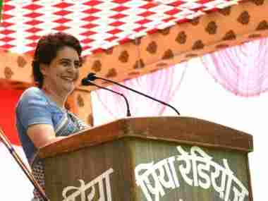 Narendra Modis roadshow in Varanasi dominates as suspense around Priyanka Gandhi Vadras candidature fizzles