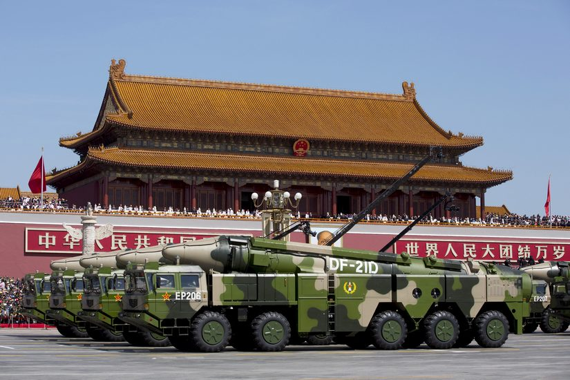 New missile gap leaves US scrambling to counter China increased military spending tech ended Washingtons monopoly