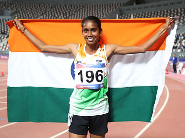 Asian Athletics Championships 2019 Underrated PU Chitra makes a giant splash by retaining 1500m gold India finish 4th