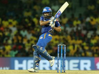 MI captain Rohit Sharma was also fined Rs 12 lakh for slo over rate. Sportzpics