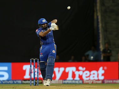 Rohit Sharma and Quinton de Kock put on 70 from 7.1 overs for the opening stand against RCB. Sportzpics