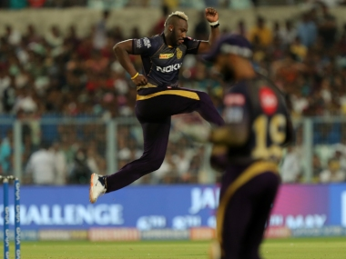 File image of Andre Russell. Sportzpics