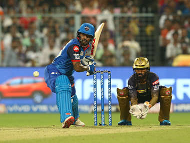 Dhawan batted through the innings to guide Delhi Capitals to a seven-wicket victory over Kolkata Knight Riders. Sportzpics