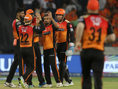 SRH moved ahead of KKR to fifth in the points table after the win. Sportzpics