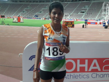 Asian Athletics Championships Sanjivani Jadhav picks up bronze India miss out on relay gold due to faulty baton exchanges
