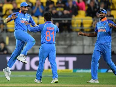 Vijay Shankar has been picked in India's squad for World Cup 2019. AFP