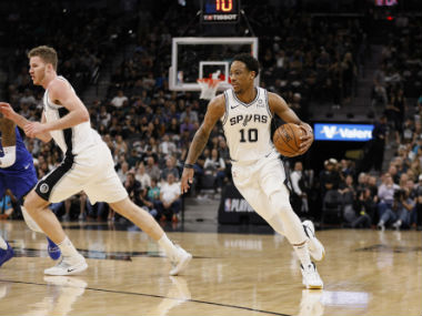 NBA Playoffs 2019 DeMar DeRozan shines as aggressive Spurs dominate Nuggets to force winnertakeall game seven