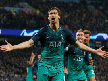 Champions League Tottenham down Manchester City on away goals to reach semis resurgent Liverpool thrash FC Porto