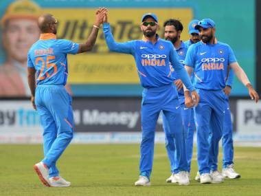India's World Cup 2019 squad will be picked on 15 April. AFP