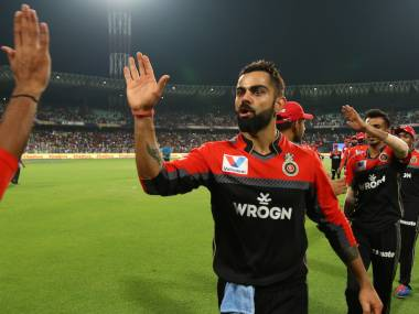Virat Kohli was declared Man of the Match for his 100 off 58 balls. Sportzpics
