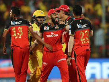 RCB defeated CSK in a thrilling match to secure their third win of IPL 2019. Sportzpics