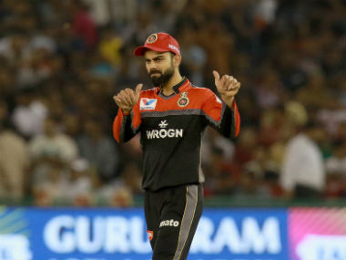 Virat Kohli would like to build on RCB's maiden win when his team plays hosts MI on Monday. Sportzpics