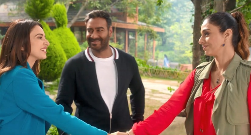 De De Pyaar De movie review Tabu Ajay Devgn champion male infidelity hatred for women a weird notion of modern coolth