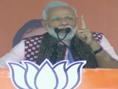 Narendra Modi in Odisha PM says BJP will weed out middlemen from the system claims Opposition is embroiled in various scams
