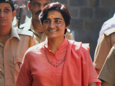 BJP fielding Sadhvi Pragya from Bhopal shows partys hardline fringe has become its mainstream Hindutva core