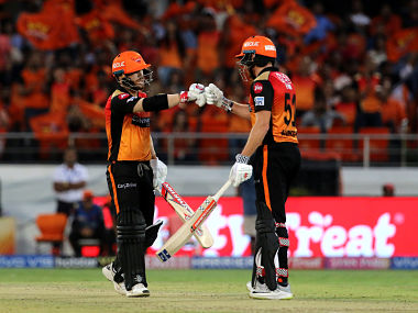 David Warner and Jonny Bairstow put on 131 for the first wicket against KKR which helped SRH push KKR completes out of the contest. Spozrtpics