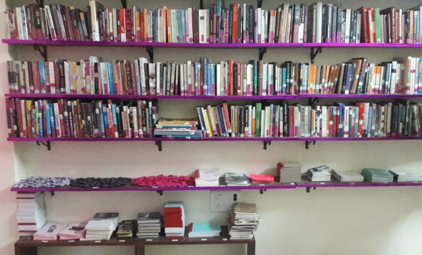 Artist Aqui Thamis Sister Library is a communityowned space bringing together books by of and for women