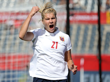 Olympique Lyonnais star Ada Hegerberg relishing return to action after lengthy spell on sidelines with knee injury