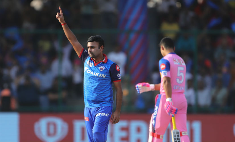 Amit Mishra picked up the Man of the Match award for his figures of 3/17 as well as a sharp low catch off Trent Boult's bowling. Sportzpics