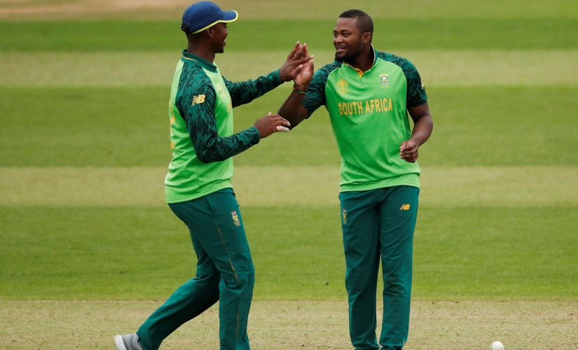 Andile Phehlukwayo's all-round show helped South Africa beat Sri Lanka. Reuters