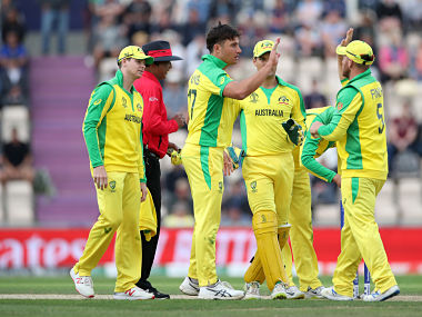 Australia beat England by 12 runs in their first warm-up match. Reuters