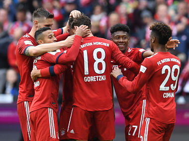 Bundesliga Bayern Munich aiming to seal seventh successive title as Borussia Dortmund rue missed chances