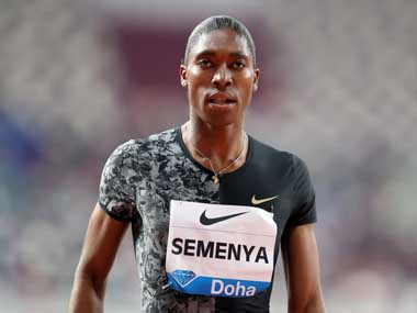 South Africa federation joins Caster Semenyas appeal against IAAF CAS testosterone ruling