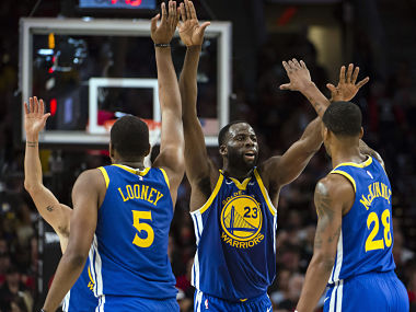 NBA Playoffs 2019 Draymond Greens tripledouble sparks Warriors comeback win over Trail Blazers in Game 3
