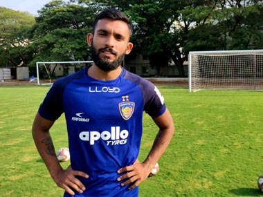 Indian Super League Chennaiyin FC announce signing of Edwin Vanspaul from neighbours Chennai City FC