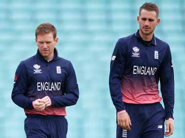 File image of Eoin Morgan and Alex Hales. Reuters