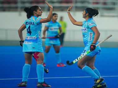Lalremsiami and Navneet Kaur guide India past hosts South Korea in opening tie of womens hockey bilateral series