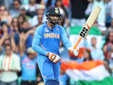 Ravindra Jadeja, who scored 54, was the lone batsmen to offer some resistance against New Zealand during the warm up game. AP