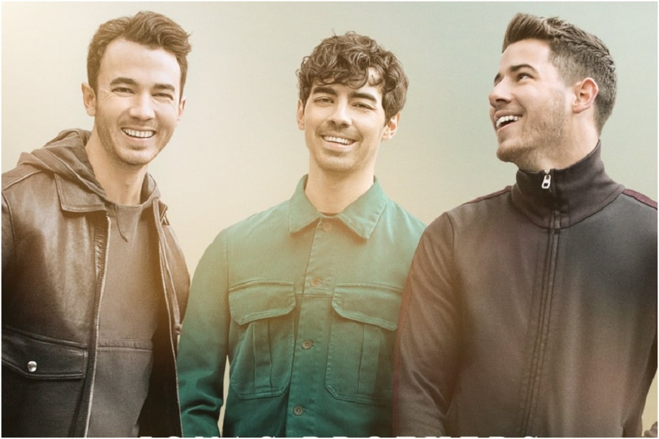 Happiness Begins Jonas Brothers comeback album tops Billboard 200 chart Nick Joe Kevin thank fans