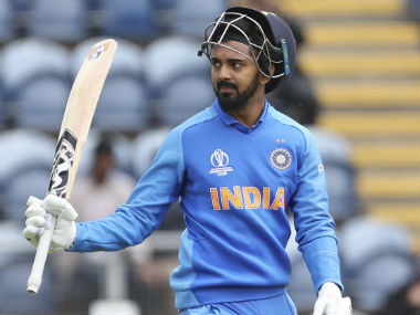KL Rahul smashed 108 off 99 balls in the warm-up clash against Bangladesh at Cardiff. AP