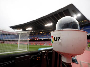 LaLiga could recommence in July without spectators says head of major broadcaster