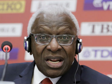 French prosecutors recommend trial for exIAAF chief Lamine Diack over corruption charges alleged role in Russian doping issue