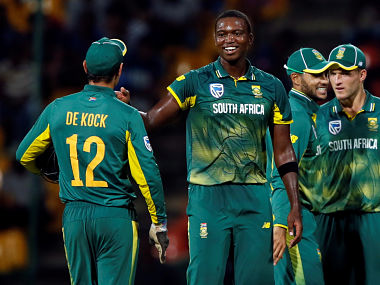 Lungi Ngidi has 34 ODI wickets under his belt at an average of 21.64. Reuters