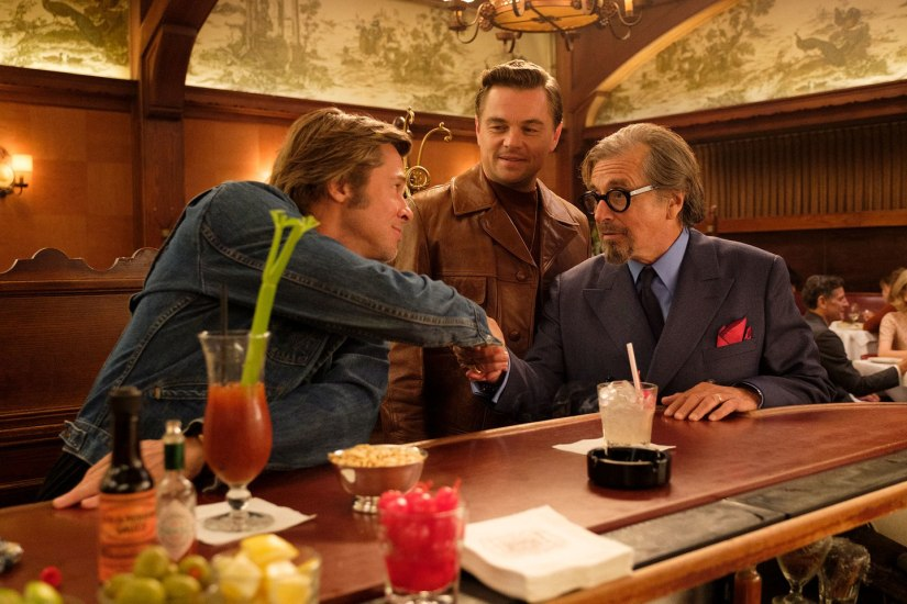 Once Upon a Time in Hollywood movie review Quentin Tarantino film buoyed by Leo DiCaprio Brad Pitts performances