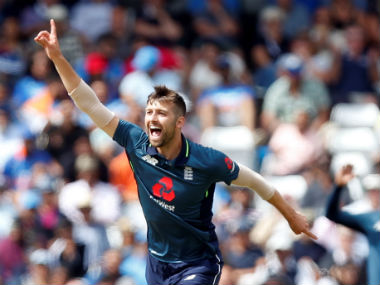 File image of England's Mark Wood. Reuters
