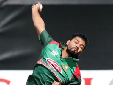 Mashrafe Mortaza is giving up the captaincy of Bangladesh's one-day international team after the third and final match against Zimbabwe. AP