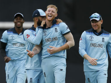 An inspired all-round performance from Ben Stokes helped hosts to a facile win. AFP