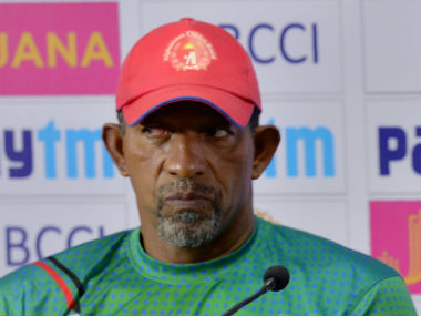 File image of Afghanistan coach Phil Simmons. AFP