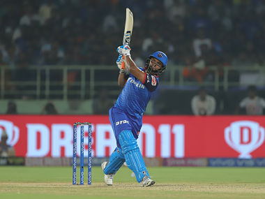 Rishabh Pant of Delhi Capitals bats during the eliminator match of the Vivo Indian Premier League Season 12, 2019 between the Delhi Capitals and the Sunrisers Hyderabad held at the ACA-VDCA Stadium, Visakhapatnam on the 8th May 2019 Photo by: Deepak Malik /SPORTZPICS for BCCI
